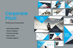 Corporate Pitch Powerpoint Template