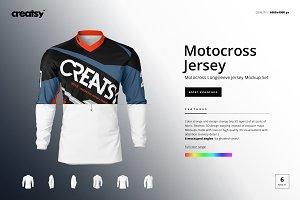 Motocross Jersey Mockup Set Psd Mockup Free Download Psd Mockup