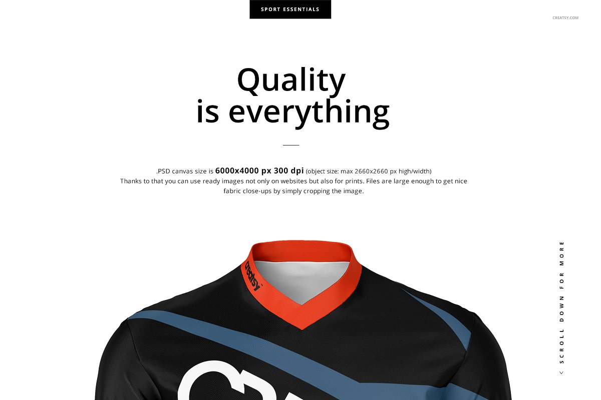 Motocross Jersey Mockup Set Creative Product Mockups Creative