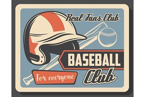 Baseball club, sport league