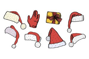 The hand of Santa Claus