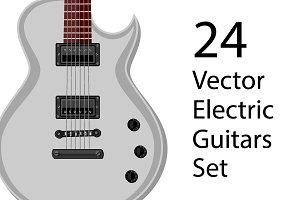 24 Vector Guitars Set