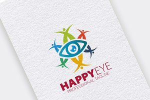 Happy Eye Logo