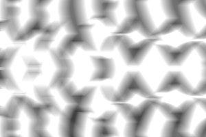 Glowing black and white pattern illu