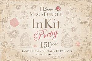 InKit Pretty Hand Drawn MegaBundle