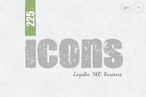 Business, SEO, Logistic Icons Bundle