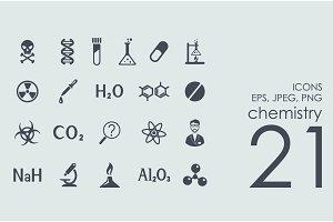 21 chemistry icons