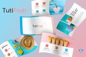 TutiFruti- Keynote Template