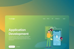 Apps Development - Banner & Landing