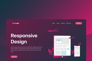 Responsive Design - Banner & Landing