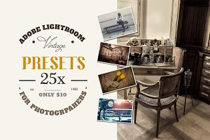 Lightroom Vintage/Retro Presets