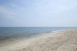 Summer Hua Hin Sea in Thailand