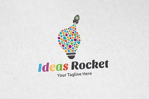 Ideas Rocket - Logo Template