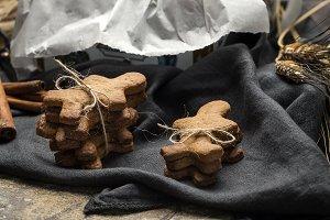 homemade gingerbread cookies