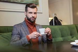 Stylish man in formal wear