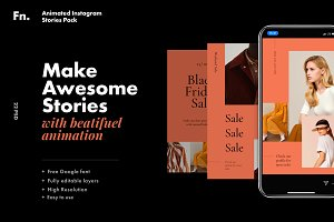 FN Animated Instagram Stories Pack