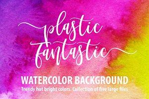 Plastic Fantastic watercolor