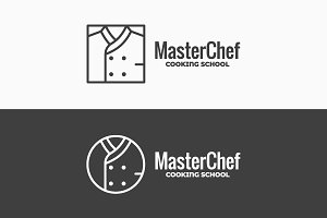 Chef uniform icon. Chefs jacket.
