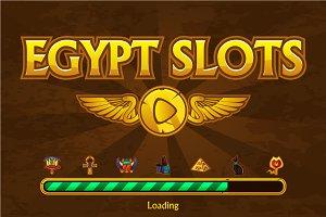 game Egypt slot machine, app icons