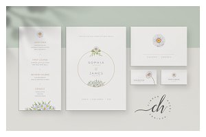 Opal • Wedding Invitation Suite