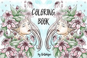 Adult and teen coloring book-part1