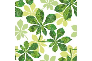 Seamless Pattern, Leaves