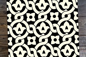 Islamic Floral Seamless Pattern