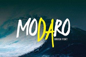 MODARO Brush Font