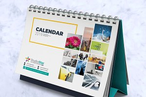 2019 Desk / Table Calendar / Planner
