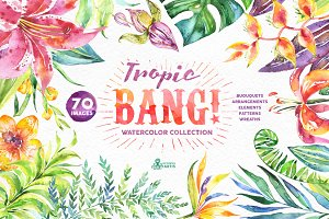 Tropic Bang! Floral collection