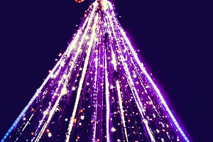 Christmas tree light