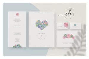 Jade • Wedding Invitation Suite