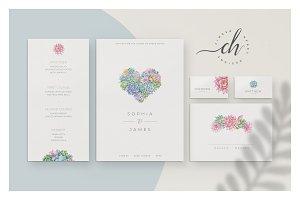 Jade • Wedding Invitation Suite