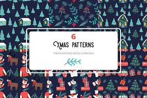 Dark Christmas patterns p.I