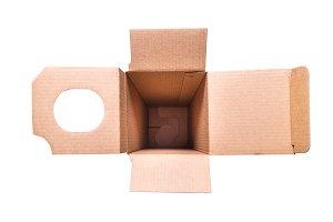 Inside of carton box for Vine bottle