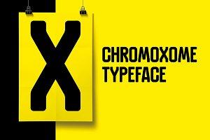 Chromoxome - Typeface