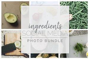 Ingredient Social Media Photo Bundle