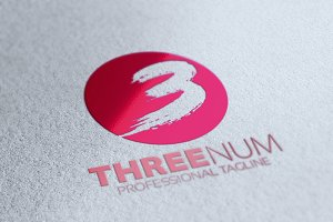 Three Number Logo