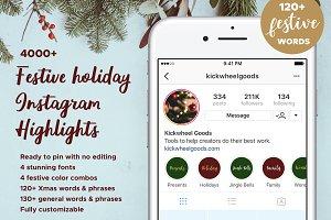 4000+ Holiday Insta Story Highlights