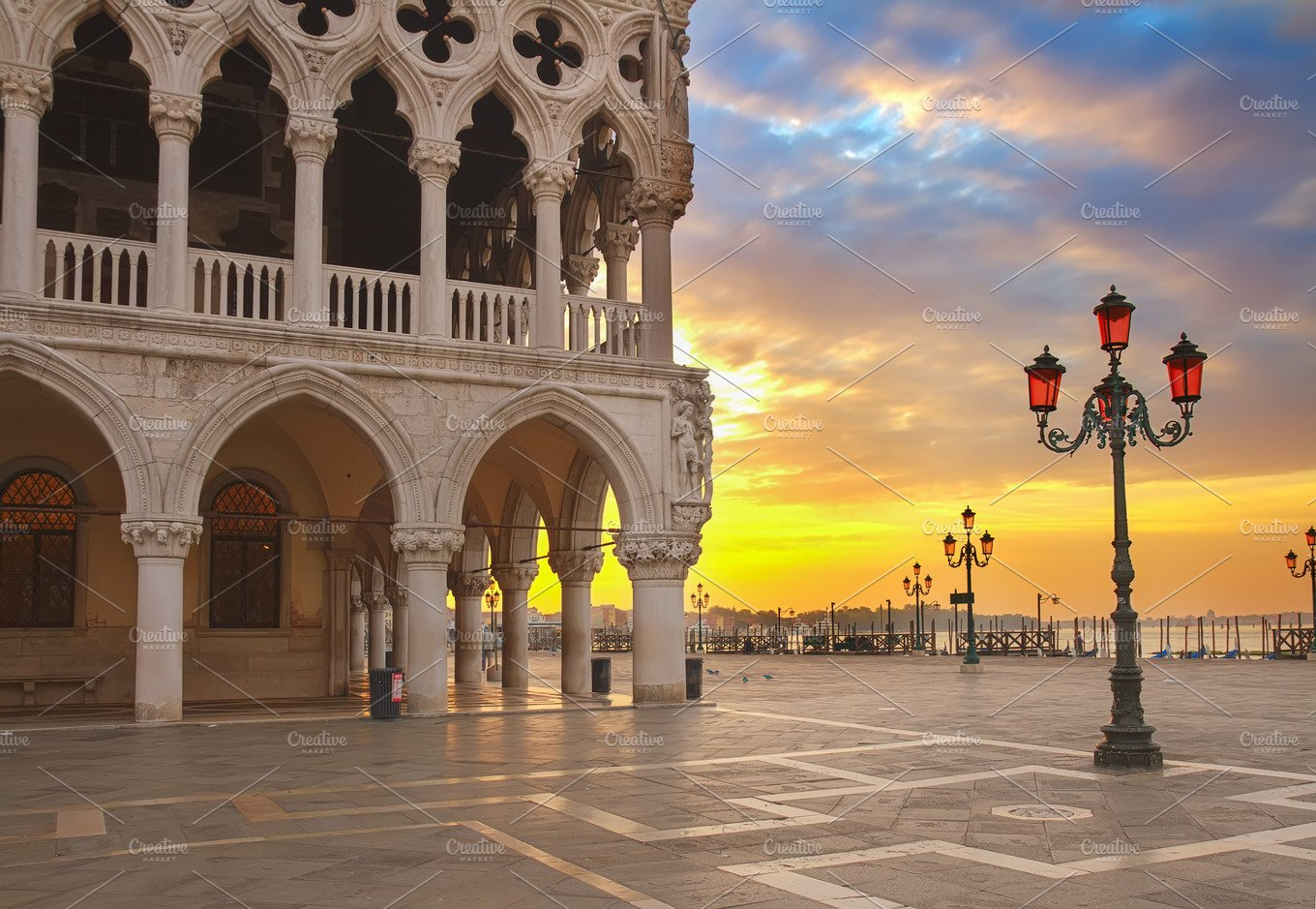 Doge palace venice italy architecture photos for Architecture venise