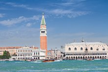 San Marco square waterfront, Venice