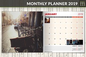 Monthly Planner 2019 (MP017-19-2)