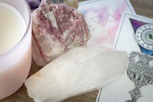 Crystals and tarot II