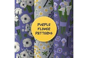 Bouquet seamless pattern vector