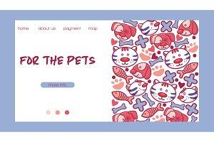 Veterinary vector pet animal