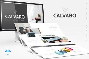 Calvaro - Keynote Template