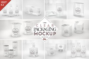 04 Clear Container Packaging Mockups