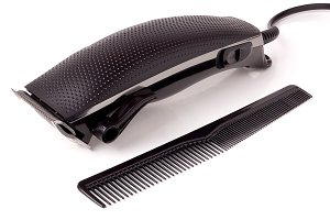 hair clipper isolated on white