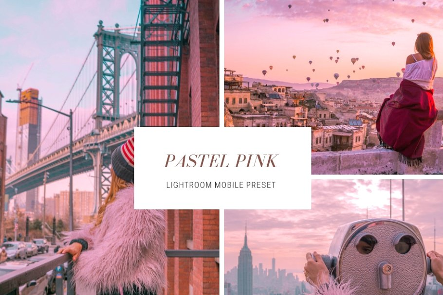 Pastel Pink Lightroom Mobile Presets ~ Web Themes ~ Creative