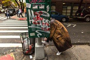 Street view in Manhattan